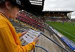 Bradford City 1 Gillingham 0, 18/09/2010. Valley Parade, Bradford. League Two. Photo by Paul Thompson.