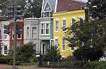 Town houses in South East Washington DC, SE Washington DC, Fine Art Photography by Ron Bennett, Fine Art, Fine Art photo, Art Photography,