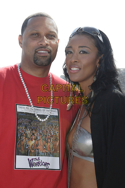 CHRIS MILLS & BLAQUE ORCHID.On the set of Blaque OrchidÕs Music Video Shoot For ÒJim & EileenÓ held at 1870 Sunset Plaza Drive, Hollywood, California, USA, 11 June 2005..half length .Ref: ADM.www.capitalpictures.com.sales@capitalpictures.com.©Zach Lipp /AdMedia/Capital Pictures
