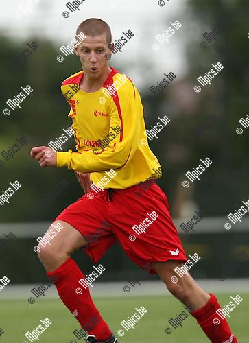2008-08-05 / Voetbal / seizoen 2008-2009 / KFC Oosterzonen / Kenny Geudens..Foto: Maarten Straetemans (SMB)