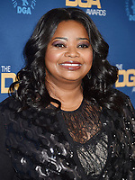 HOLLYWOOD, CA - FEBRUARY 02: Octavia Spencer attends the 71st Annual Directors Guild Of America Awards at The Ray Dolby Ballroom at Hollywood & Highland Center on February 02, 2019 in Hollywood, California.<br /> CAP/ROT/TM<br /> ©TM/ROT/Capital Pictures