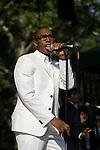 Raphael Saadiq Performs at Raphael Saadiq/ Aloe Blacc - Central Park Summer Stage, New York 7/17/10