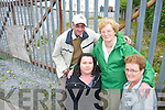 FED UP: Residents of Railway Terrace in Tralee who.are fed up with the dumping of rubbish near their.estate, front l-r: Brenda Mulvihill, Mary Greensmith..Back l-r: Michael Griffin and Kay Maher.