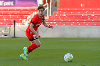 Bridgeview, IL - Sunday June 12, 2016: Meghan Klingenberg during a regular season National Women's Soccer League (NWSL) match between the Chicago Red Stars and the Portland Thorns at FC Toyota Park.
