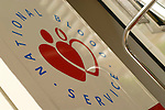 A NHS National Blood Service mobile donating unit. Royalty Free
