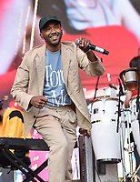 SAN FRANCISCO, CALIFORNIA - AUGUST 11: Toro y Moi - Chaz Bear performs during the 2019 Outside Lands Music And Arts Festival at Golden Gate Park on August 11, 2019 in San Francisco, California. Photo: imageSPACE/MediaPunch<br /> CAP/MPI/IS/AB<br /> ©AB/IS/MPI/Capital Pictures