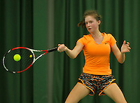 Rotterdam, The Netherlands, March 18, 2016,  TV Victoria, NOJK 14/18 years, Zoe Gubbels (NED)<br /> Photo: Tennisimages/Henk Koster