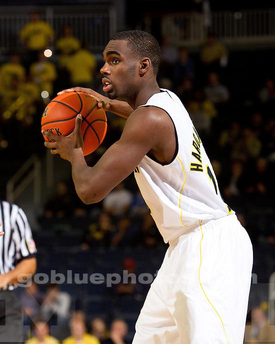 The University of Michigan men's basketball team beat Towson, 64-47, at Crisler Arena in Ann Arbor, Mich., on November 14, 2011.