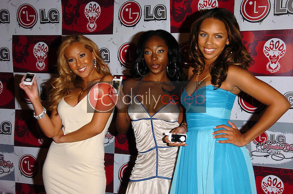 3LW<br />at the LG and Jermain Dupri FUSIC Party. Day After Club, Hollywood, CA. 06-27-06<br />Scott Kirkland/DailyCeleb.Com 818-249-4998