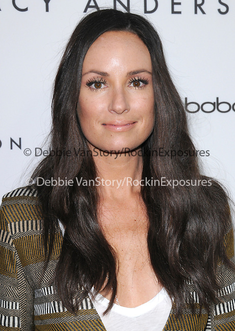 Catt Sadler celebrates the opening of the Tracy Anderson flagship studio in Brentwood, California on April 04,2013                                                                   Copyright 2013 Hollywood Press Agency