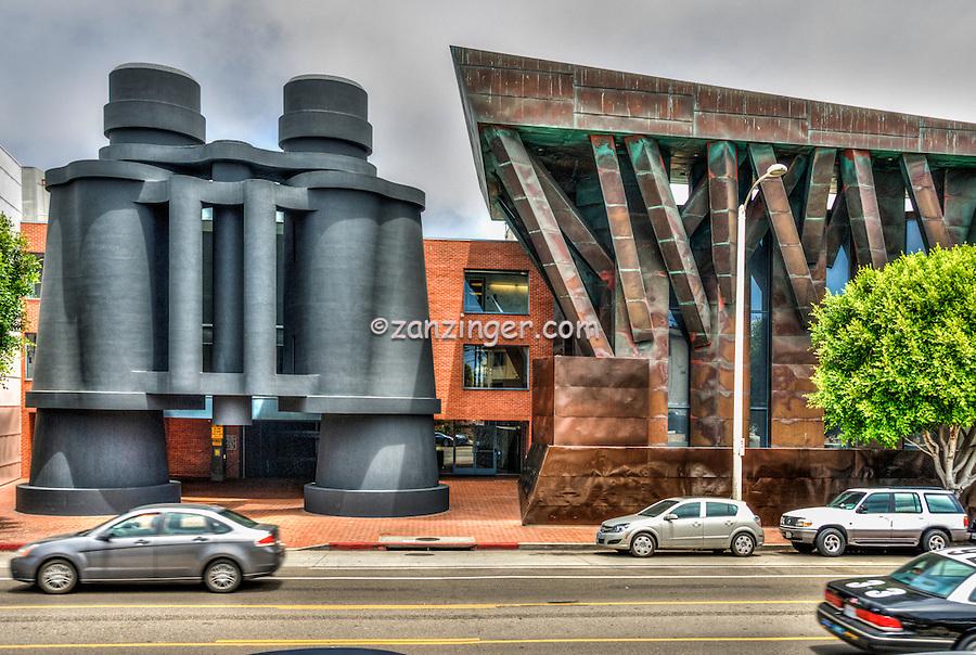 "Frank Gehry ""Binoculars Building"" in Venice, California, Landmark, Santa Monica Incline, Southern California,"