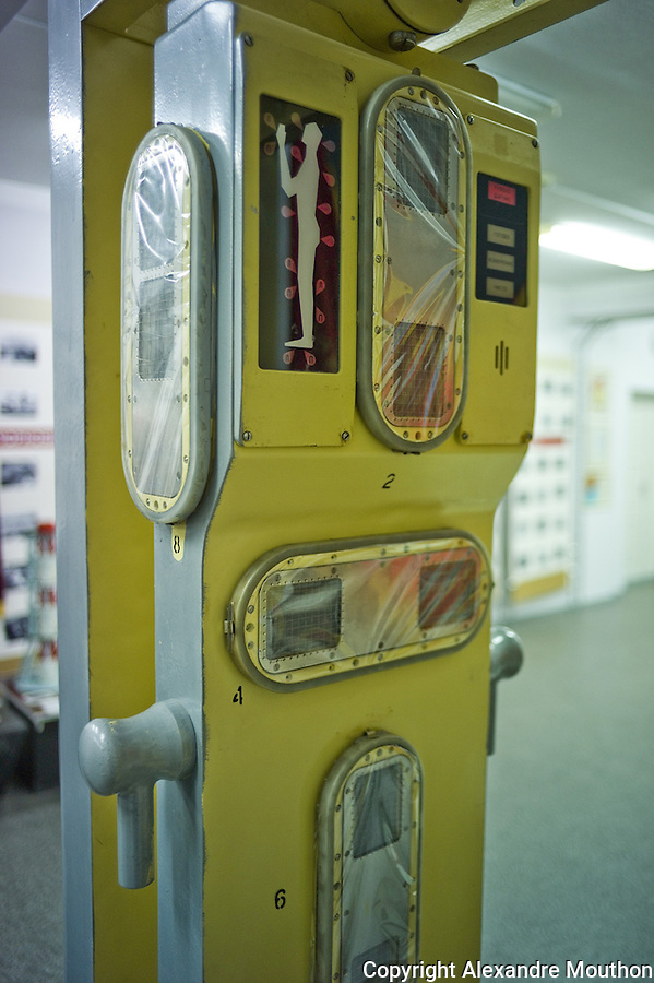 Tchernobyl device to measuring radiation on workers