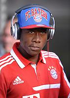 FUSSBALL   1. BUNDESLIGA   SAISON 2013/2014   SUPERCUP Borussia Dortmund - FC Bayern Muenchen           27.07.2013 David Alaba (FC Bayern Muenchen) mit Kopfhoerern
