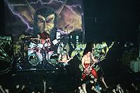 Venom performs at The Metro in Chicago, Illinois. <br /> March, 30th, 1986 <br /> CAP/MPI/GA<br /> &copy;GA/MPI/Capital Pictures