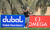 David Howell (ENG) in action during the first round of the 2013 Omega Dubai Desert Classic being played over the Majlis Golf Course, Emirates Golf Course from 31st January to 3rd February 2013: Picture Stuart Adams www.golftourimages.com/www.golffile.ie:  31st January 2013
