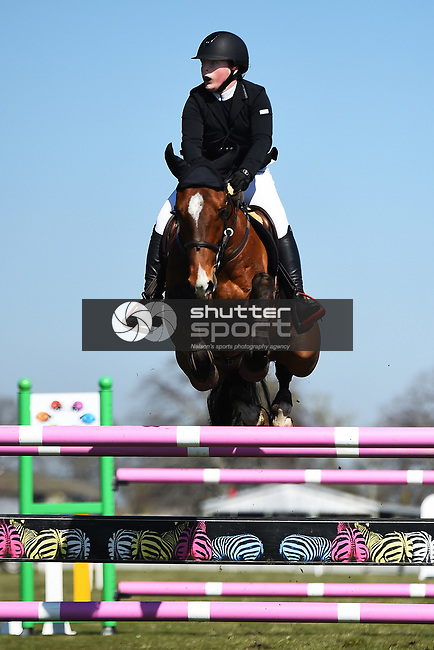 NELSON, NEW ZEALAND - Show Jumping Grand Prix, Richmond, New Zealand. Saturday 15 September 2018. (Photo by Chris Symes/Shuttersport Limited)