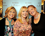 "From left: Marnie Hogan, Brenda Love and ""Puff"" Fried at the Young at Heart party at the Guess by Marciano store at the Galleria  Wednesday March 24,2010. (Dave Rossman Photo)"
