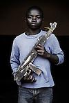 Musafiri. 14 ans. 6 mois passés dans les groupes armés. Bukavu, RDC, juillet 2013.