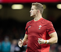 Wales' Hallam Amos during the pre match warm up<br /> <br /> Photographer Simon King/CameraSport<br /> <br /> International Rugby Union - 2017 Under Armour Series Autumn Internationals - Wales v Australia - Saturday 11th November 2017 - Principality Stadium - Cardiff<br /> <br /> World Copyright &copy; 2017 CameraSport. All rights reserved. 43 Linden Ave. Countesthorpe. Leicester. England. LE8 5PG - Tel: +44 (0) 116 277 4147 - admin@camerasport.com - www.camerasport.com