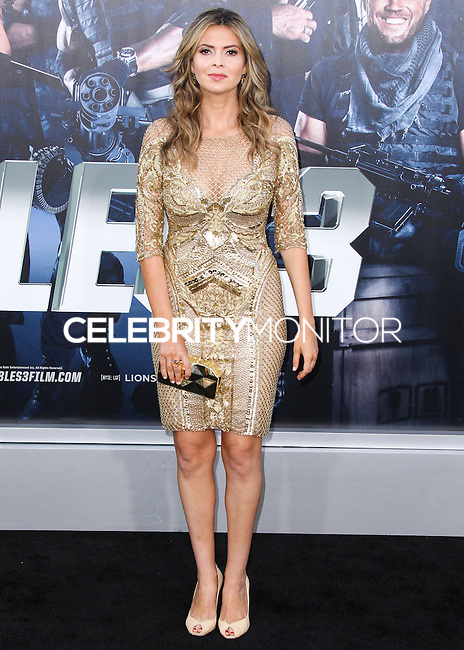 HOLLYWOOD, LOS ANGELES, CA, USA - AUGUST 11: Carly Steel at the Los Angeles Premiere Of Lionsgate Films' 'The Expendables 3' held at the TCL Chinese Theatre on August 11, 2014 in Hollywood, Los Angeles, California, United States. (Photo by Xavier Collin/Celebrity Monitor)