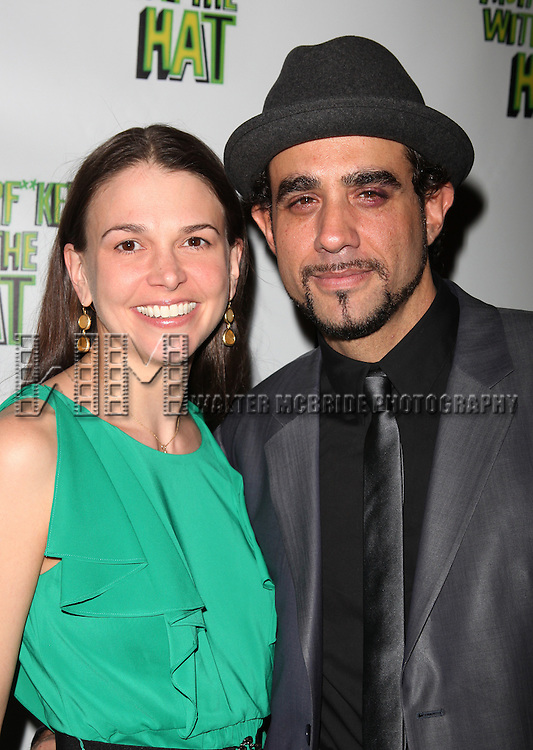 Sutton Foster & Bobby Cannavale.attending the Broadway Opening Night Performance After Party for 'The Mother F**ker with the Hat'  in New York City.