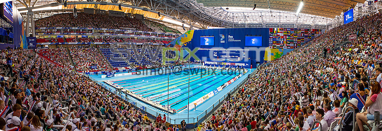 Picture by Alex Whitehead/SWpix.com - 09/08/2015 - Swimming - 16th FINA World Swimming Championships 2015 - Kazan Arena Stadium, Kazan, Russia - A General View (GV).