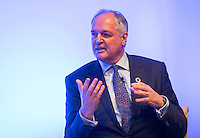 05 December 2016 - London, England - Unilever CEO Paul Polman speaks during a briefing with business leaders to discuss the importance of workplace wellbeing, as part of the Heads Together campaign, at Unilever, in London. Photo Credit: ALPR/AdMedia
