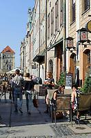 Restaurant am alten Marktplatz (Stary Rynek) in Posnan (Posen), Woiwodschaft Gro&szlig;polen (Wojew&oacute;dztwo wielkopolskie), Polen Europa<br /> Restaurant at Old Market Place (Stary Rynek) in Pozan, Poland, Europe