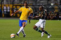 ATENÇÃO EDITOR: FOTO EMBARGADA PARA VEÍCULOS INTERNACIONAIS - SÃO PAULO, SP, 11 DE DEZEMBRO DE 2012 - JOGO DE DESPEDIDA DO GOLEIRO MARCOS - Rivaldo durante partida de despedida do goleiro Marcos, entre o time do Palmeiras de 1999 Campeão da Libertadores contra a Seleção Brasileira de 2002 Campeã do Mundo. A partida foi disputada na noite desta terça feira (11) no Estádio do Pacaembu em São Paulo. FOTO: LEVI BIANCO - BRAZIL PHOTO PRESS