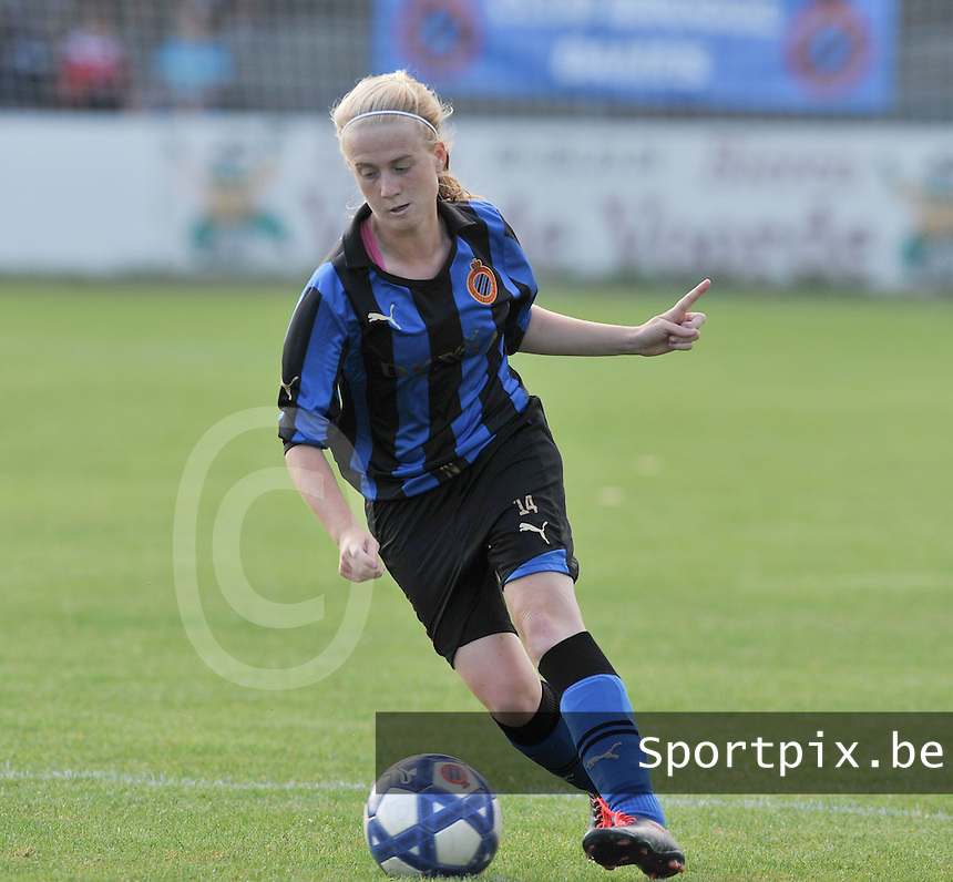 Club Brugge Dames : Silke Demeyere.Foto David Catry / Vrouwenteam.be