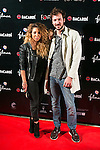 """Sandra Cervera and Jorge Suquet attend the Premiere of the movie """"REC 4"""" at Palafox Cinema in Madrid, Spain. October 27, 2014. (ALTERPHOTOS/Carlos Dafonte)"""