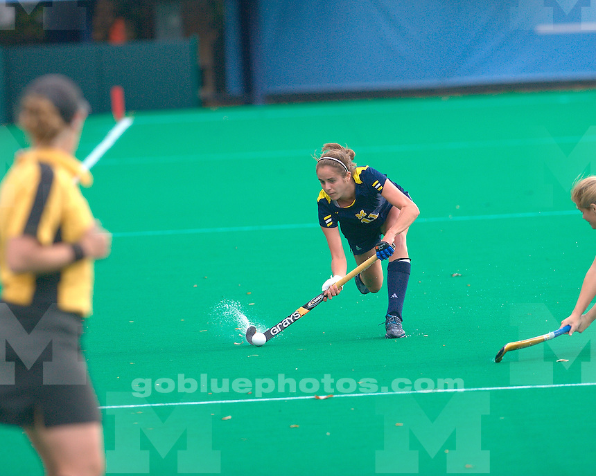 The University of Michigan field hockey team lost to No. 1 North Carolina, 5-1, in the second round of the 2011 NCAA Field Hockey Tournament in Chapel Hill, N.C., on November 13, 2011.
