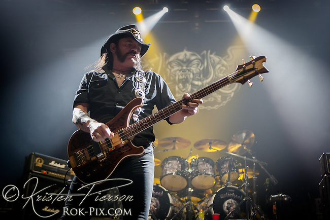 Motorhead performing on the Gigantour at Mohegan Sun Arena on January 27, 2012