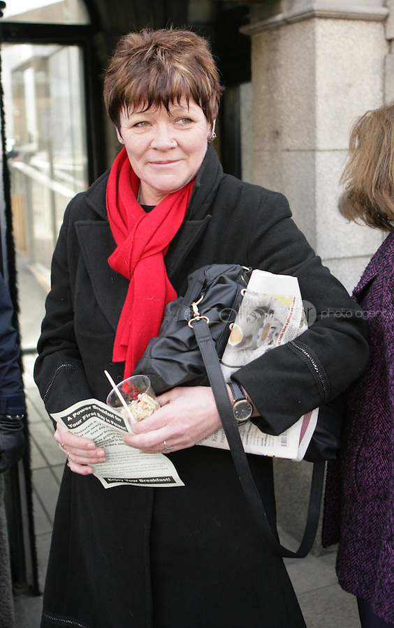 09/03/2011.Socailist TD Joan Collins.during the 1st day of the 31st Dail.at Leinster House,  Dublin..Photo: Gareth Chaney Collins