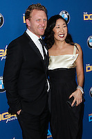 CENTURY CITY, CA - JANUARY 25: Kevin McKidd, Sandra Oh at the 66th Annual Directors Guild Of America Awards held at the Hyatt Regency Century Plaza on January 25, 2014 in Century City, California. (Photo by Xavier Collin/Celebrity Monitor)