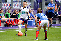 20190813 - ANDERLECHT, BELGIUM : Anderlecht's Sarah Wijnants (11) pictured during the female soccer game between the Belgian RSCA Ladies – Royal Sporting Club Anderlecht Dames and the Northern Irish Linfield ladies FC , the third and final game for both teams in the Uefa Womens Champions League Qualifying round in group 8 , Tuesday 13 th August 2019 at the Lotto Park Stadium in Anderlecht , Belgium  .  PHOTO SPORTPIX.BE   STIJN AUDOOREN