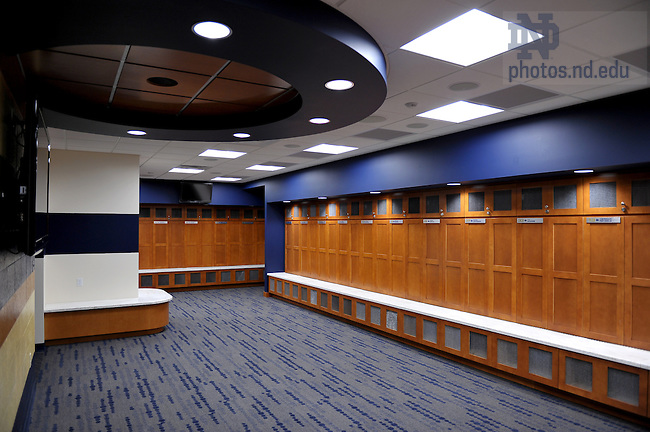 21 2011 Locker Room In Eck Baseball StadiumPhoto