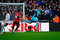 Sunday, 23 November 2012<br /> <br /> Pictured: Michel Vorm of Swansea City <br /> <br /> Re: Barclays Premier League, Swansea City FC v Manchester United at the Liberty Stadium, south Wales.
