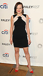 """Elisabeth Moss at the 2014 PaleyFest """"Mad Men"""" arrivals held at The Dolby Theatre Los Angeles, Ca. March 21, 2014."""