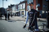 new to the pro ranks: Jasper Stuyven (BEL) before the start<br /> <br /> GP Le Samyn 2014