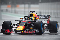 DANIEL RICCIARDO (AUS) of Aston Martin Red Bull Racing TAG Heuer during Day 3 of the 2018 Formula 1 Testing at the Circuit de Catalunya, Barcelona. on 28 February 2018. Photo by Vince  Mignott.
