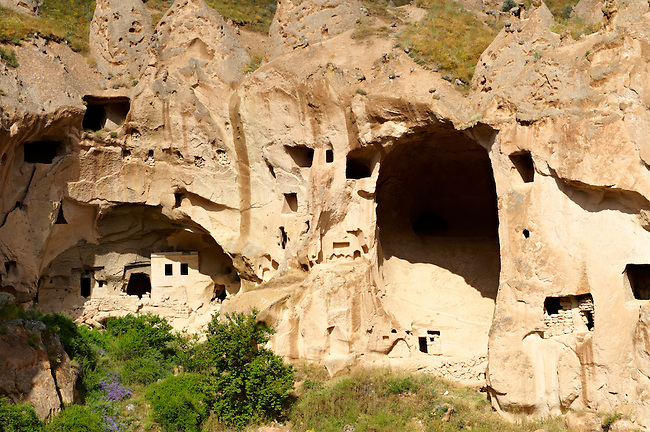 Early Christian monasteries of Zelve, Cappadocia Turkey