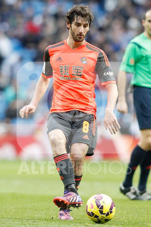 Real Sociedad's Esteban Granero during La Liga match.January 31,2015. (ALTERPHOTOS/Acero)