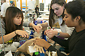 Duke first-year students work on team projects together with oversight and guidance from faculty during a new Engineering Design Pod class. The program is part of a new initiative designed to give all engineering students project- and problem-based experiences right from the start. One of the projects involves developing a prosthetic arm for nursing students learning to put in IV lines.