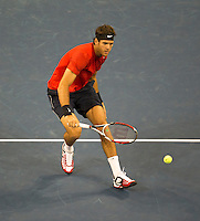 Juan Martin Del Potro..Tennis - US Open - Grand Slam -  New York 2012 -  Flushing Meadows - New York - USA - Tuesday 4th September  2012. .© AMN Images, 30, Cleveland Street, London, W1T 4JD.Tel - +44 20 7907 6387.mfrey@advantagemedianet.com.www.amnimages.photoshelter.com.www.advantagemedianet.com.www.tennishead.net