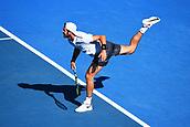 8th January 2018, ASB Tennis Centre, Auckland, New Zealand; ASB Classic, ATP Mens Tennis;  Karen Khachanov (RUS) during the ASB Classic ATP Men's Tournament Day 1