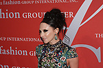 Stacey Bendet - CEO of Alice and Olivia arrives at The Fashion Group International's Night of Stars 2017 gala at Cipriani Wall Street on October 26, 2017.