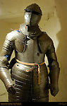 Cuirassier Plate Armor, English Civil War 1642-1651, Leeds Castle, Maidstone, Kent, England, UK