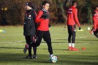 Carlos Salcedo (Eintracht Frankfurt) - 14.02.2018: Eintracht Frankfurt Training, Commerzbank Arena