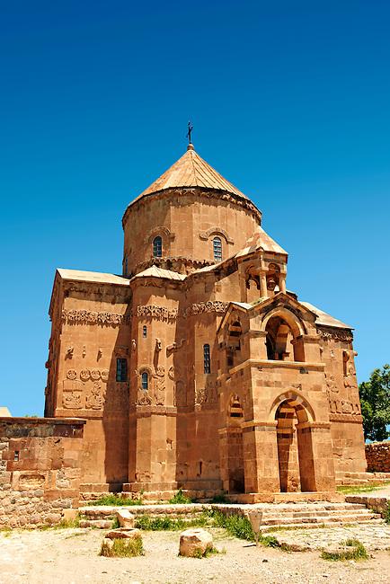 10th century Armenian Orthodox Cathedral of the Holy Cross on Akdamar Island, Lake Van Turkey 81
